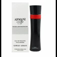 Тестер Giorgio Armani Code A-List EDT 110 ml (неровность флакона)