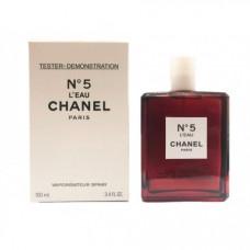 Тестер Chanel № 5 L'Eau Red Edition 100 МЛ