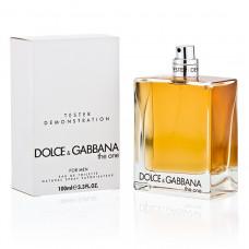 ТЕСТЕР DOLCE & GABBANA THE ONE FOR MEN, EDT 100 ml