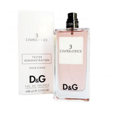 Купить Тестер Dolce and Gabbana №3 L'imperatrice edt 100 ml