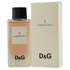Dolce & Gabbana №3 L'imperatrice edt 100 ml